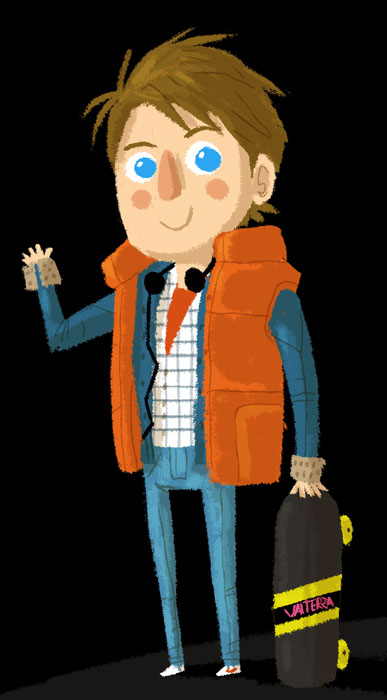 Marty McFly by peerro