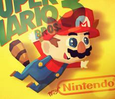 Super Mario 3 by peerro