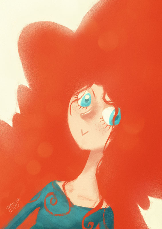 Merida by peerro