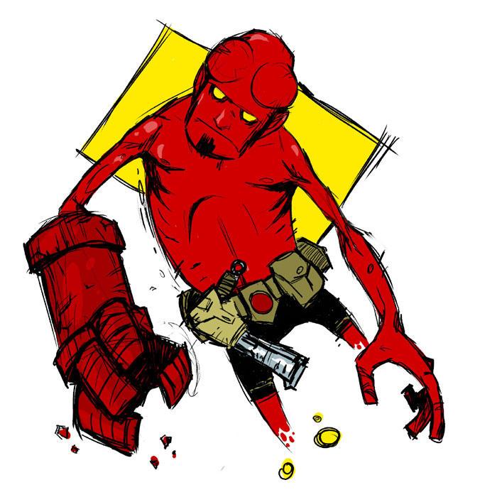 Hellboy2 by peerro