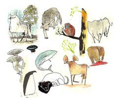 Animalitos by peerro