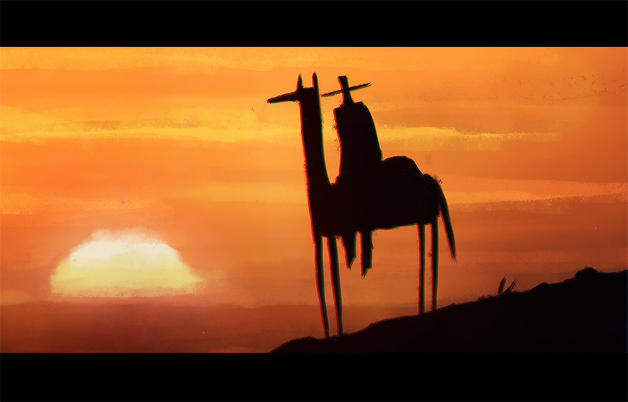 Vaquero Sunrise by peerro