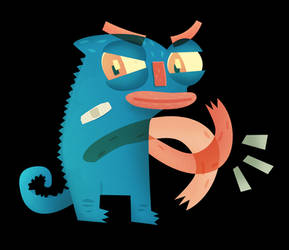 KiwAh boy Chameleon by peerro