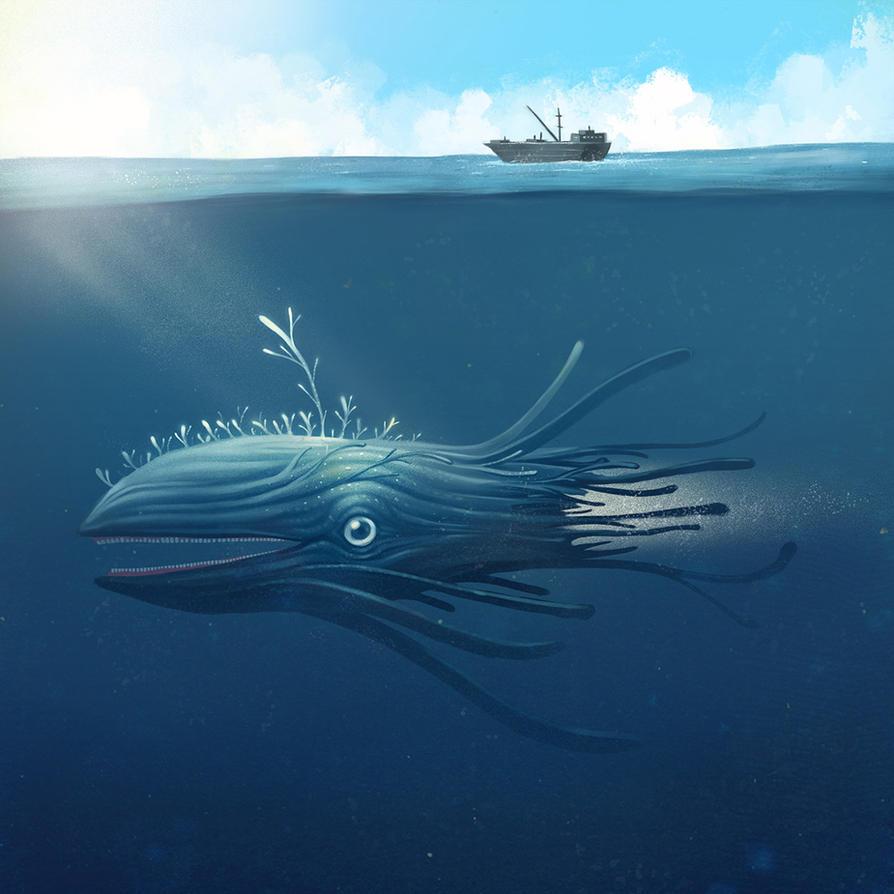 Sea monster by peerro