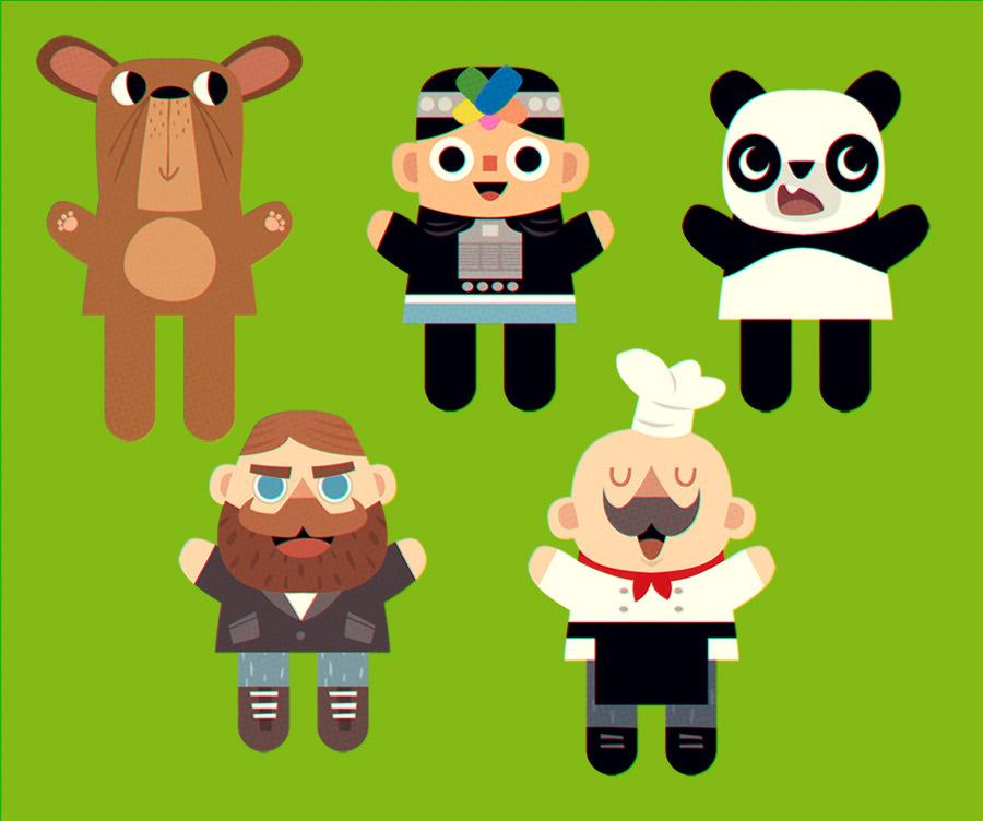 Personajes varios by peerro