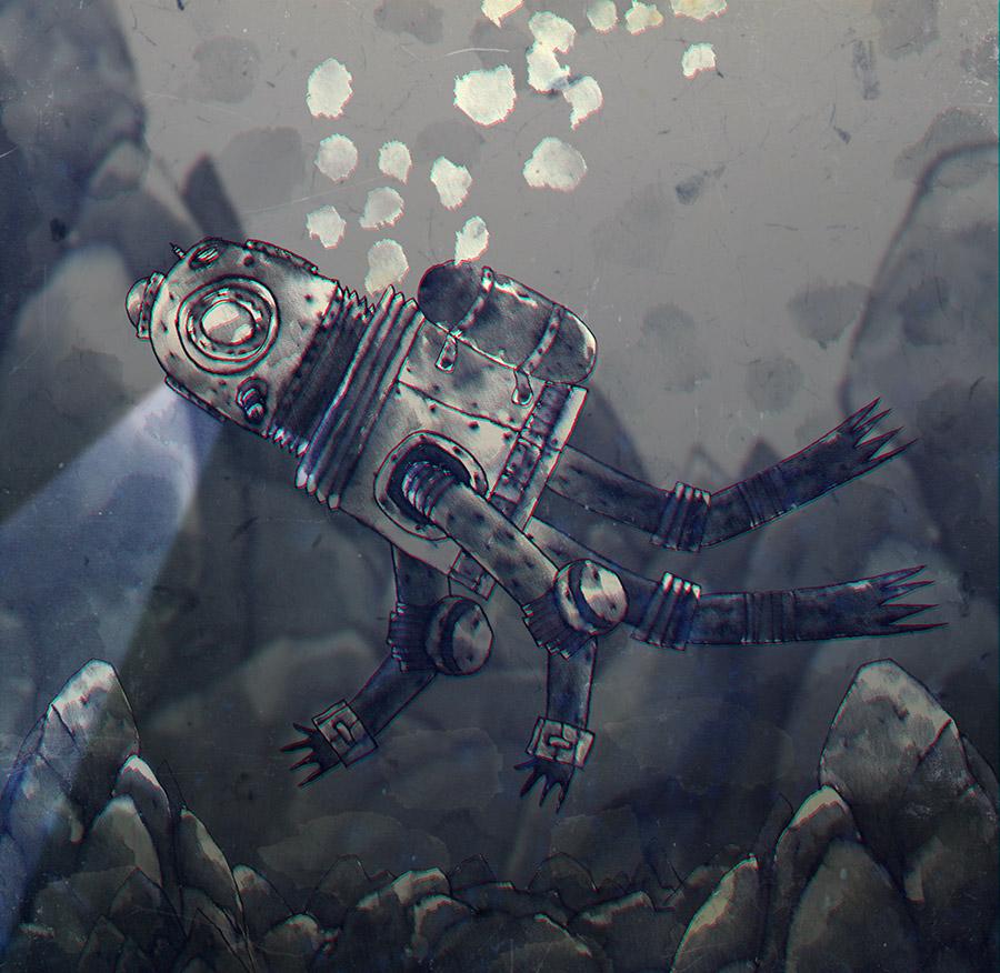 Under the sea by peerro
