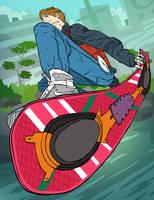 Marty McFly by peerro