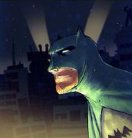 Batman Fanart by peerro