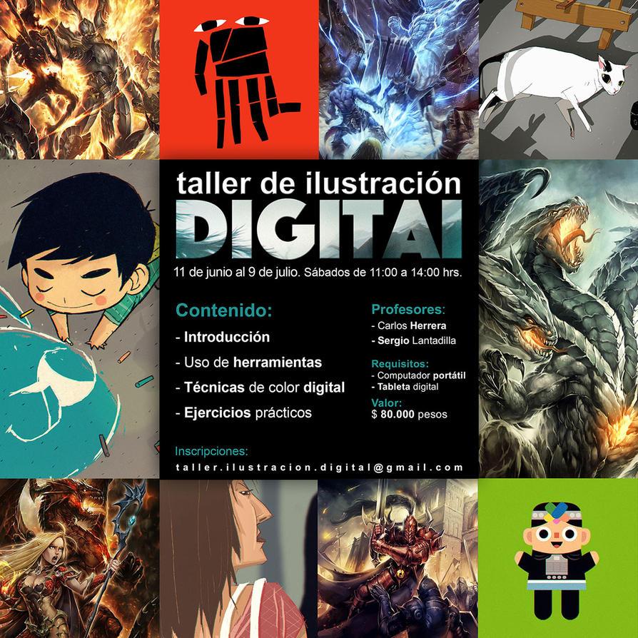 Taller de ilustracion digital by peerro