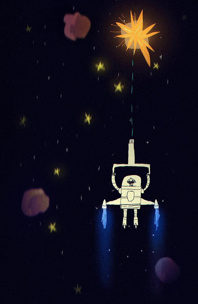 Spaceman by peerro