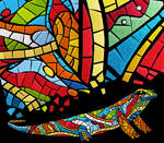 Salamander as a mosaic