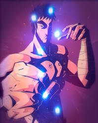 Kenshiro - Fist of the North Star by peerro