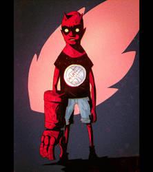 Hellboy Kid by peerro