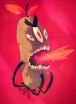 the Evil Vegan Monster from Hell