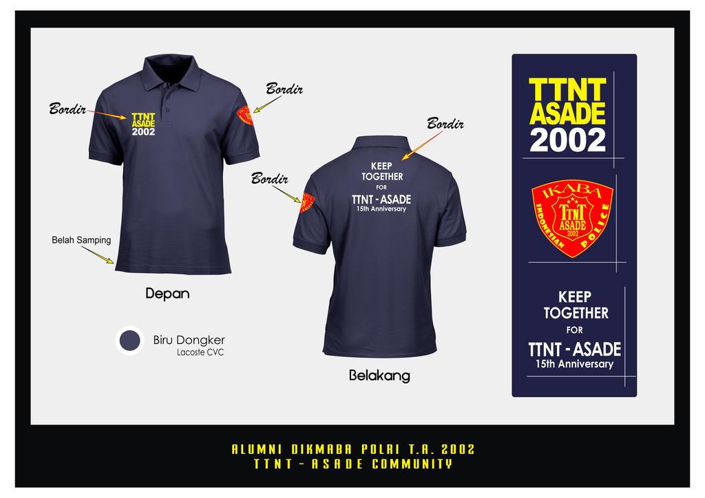 TTNT Polo Shirt Biru by epnoh82