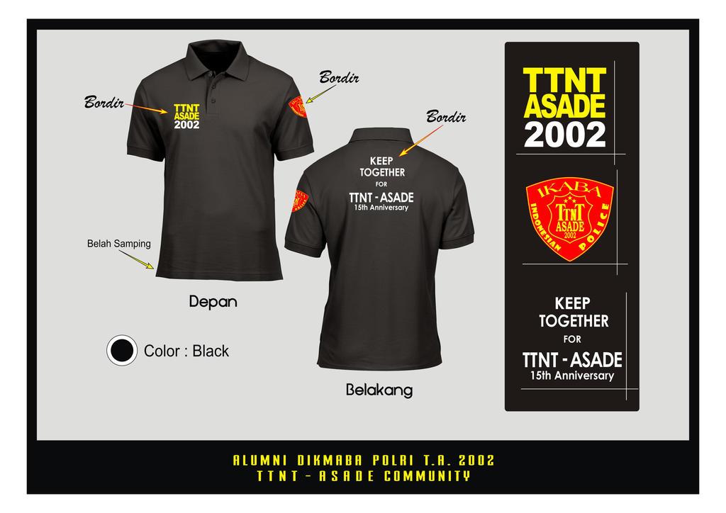 TTNT Polo Shirt Black by epnoh82