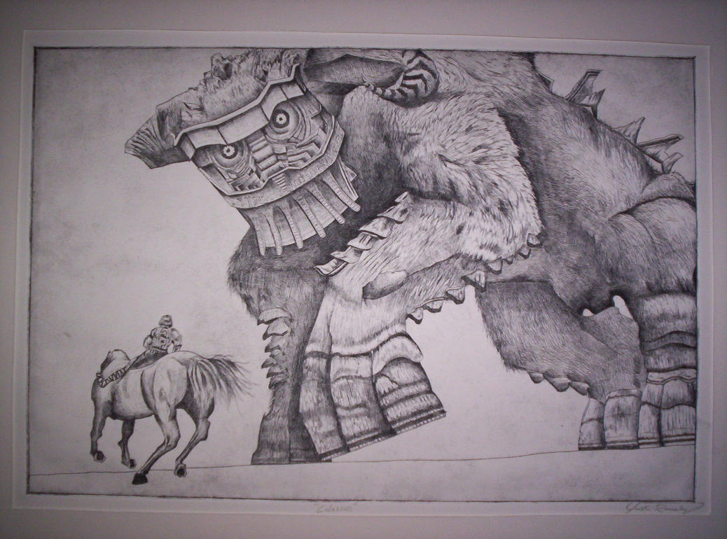 Shadow of the Colossus by NeoRagnarok on DeviantArt
