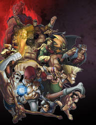 Street Fighter UDON contest 01
