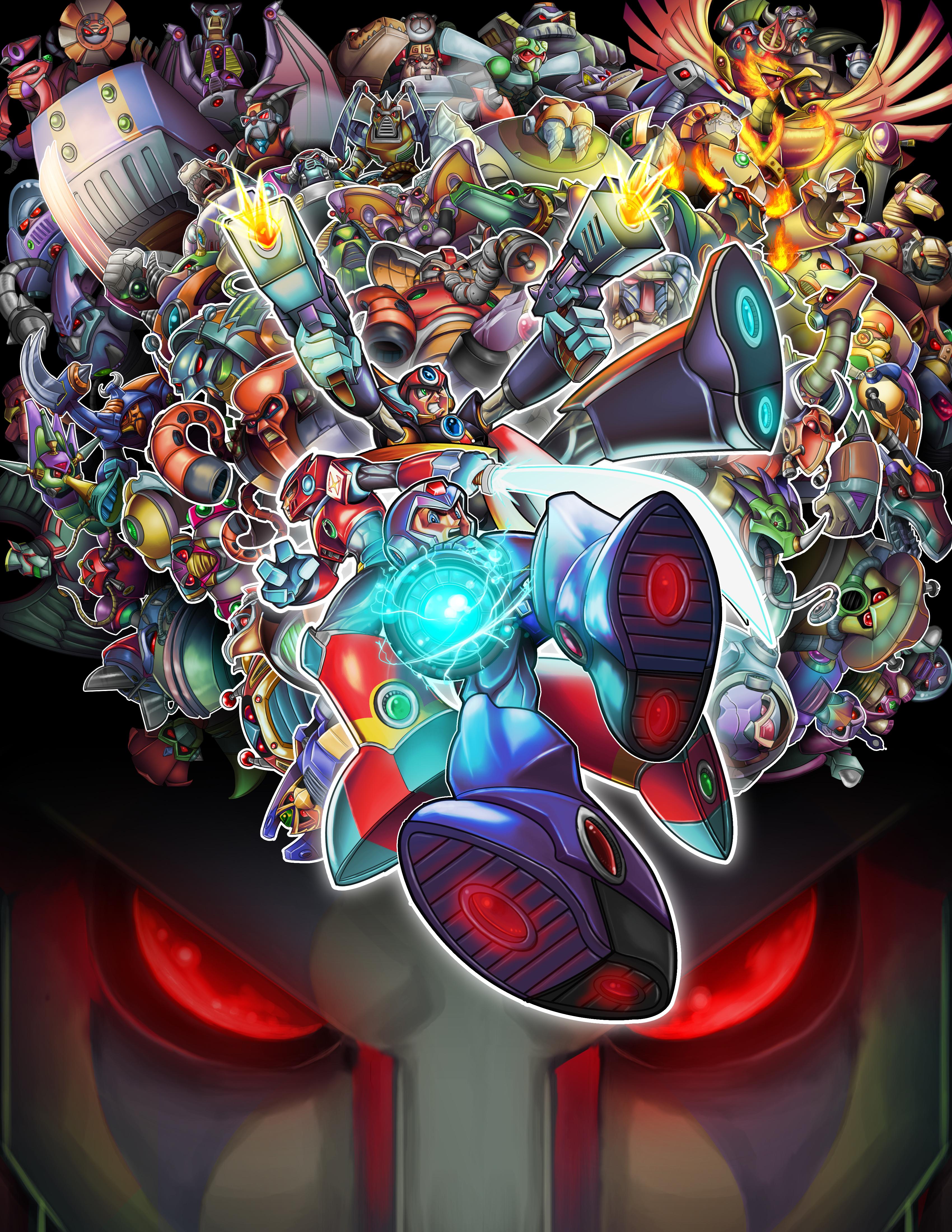 Megaman Tribute Choosen by Daniel-Velez