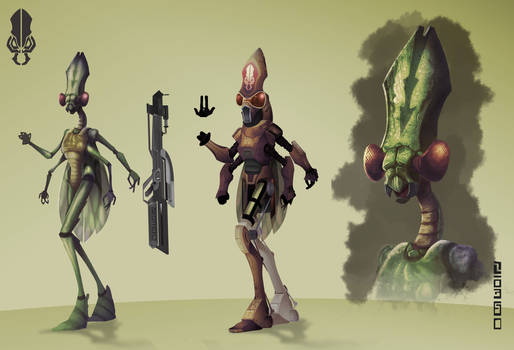 Alien Concept Design
