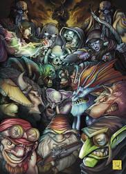 Warcraft tribute by Daniel-Velez