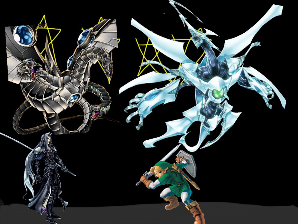 Link Vs Sephiroth Sqd Vs Cyber End Dragon By Linkfudo39 On Deviantart