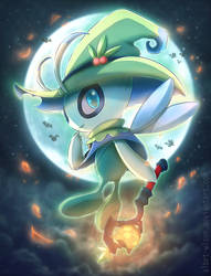 Celebi, The Giving Witch by albrt-wlson