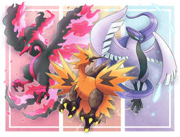 Trio Legendary Birds (Galarian Form)