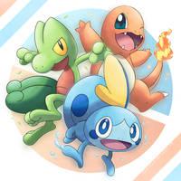 Trio Lizard Starters