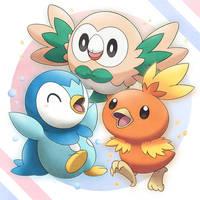 Trio Bird Starters