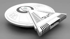 USS Leonard Nimoy tribute starship