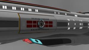 Saucer Airlock close up