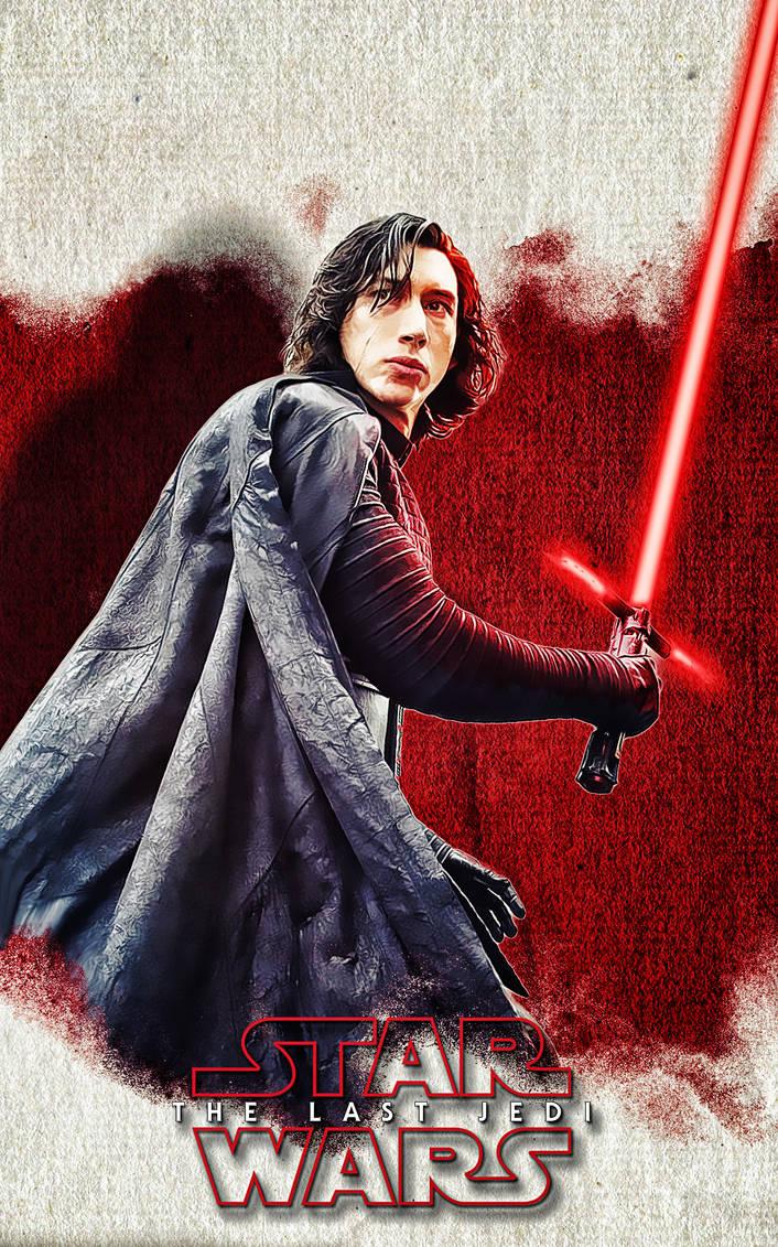 Star Wars - The Last Jedi - Kylo Ren Wallpaper by mattze87 ...