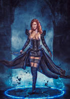 Dark Battle-Witch by mattze87
