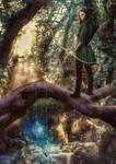 Elven Huntress by mattze87