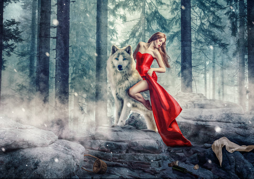 Little Red Riding Hood changes the side!