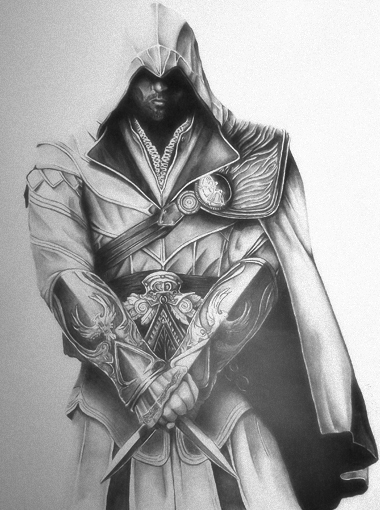 Assassin's Creed  Ezio Auditore by lPinhead