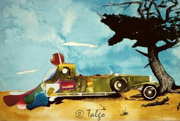 Dali's Car