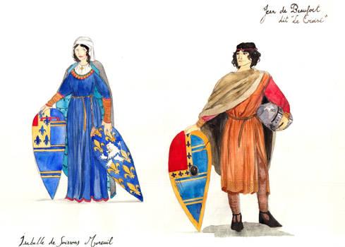 Isabelle et Jean - Commission