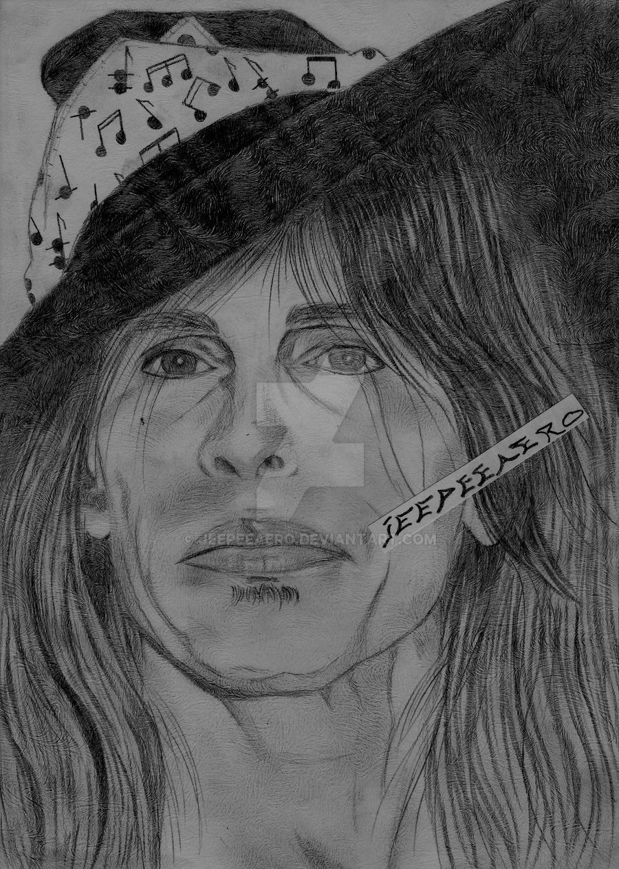 steven tyler drawing portrait by jeepeeaero