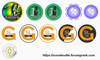 Avatar requests for the staff of Forumotion by IconSkoulikiGraphics