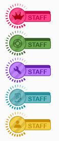 Loading staff ranks