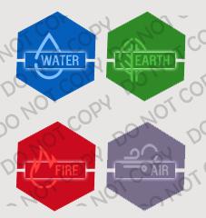 4 elements avatar by IconSkoulikiGraphics