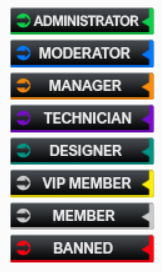 Design black ranks