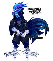 Yard Bird Warrior AUCTION (closed) by Tokyozilla