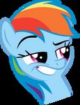 Rainbow Dash 'Whatsa problem?'