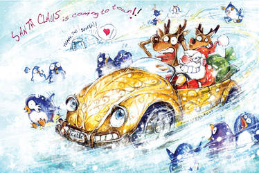 SANTA CLAUS is comin' to town by Tung-Monster