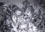A delicious soup for the forest's deities by Tung-Monster