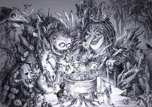 A delicious soup for the forest's deities