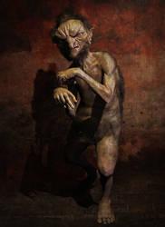 Goblin Portrait by holonick